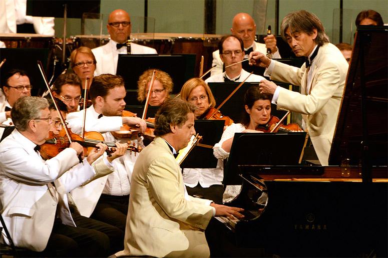 OSM - Alain Lefèvre et Kent Nagano en ouverture du 40e Festival de Lanaudière!