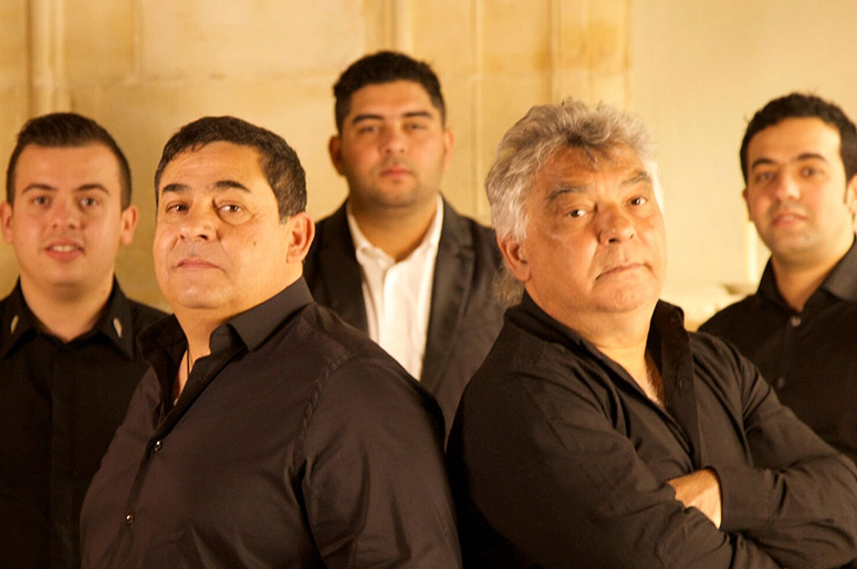 The Gipsy Kings avec Nicolas Reyes et Tonino Baliardo