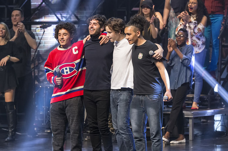 Le show de la fondation evenko