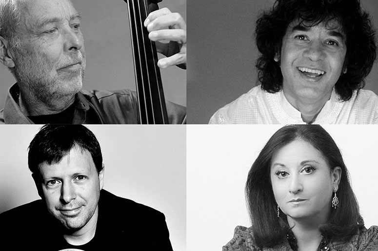 Dave Holland, Zakir Hussain & Chris Potter Trio - Renee Rosnes