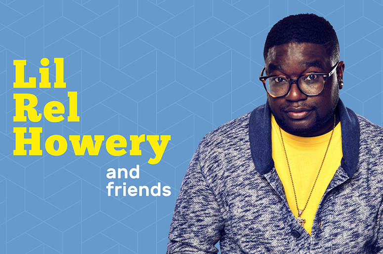 Lil Rel Howery and friends