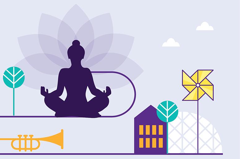 Yoga immersif