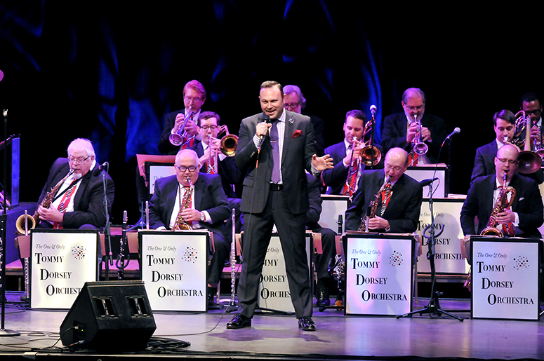 The Tommy Dorsey Orchestra et son hommage à Frank Sinatra!