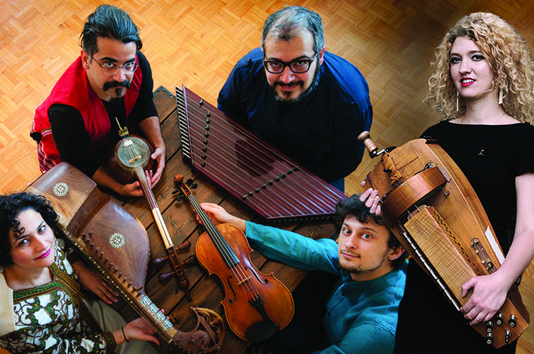 Kurdes en cordes - Kamaan Ensemble & Éléonore Fourniau