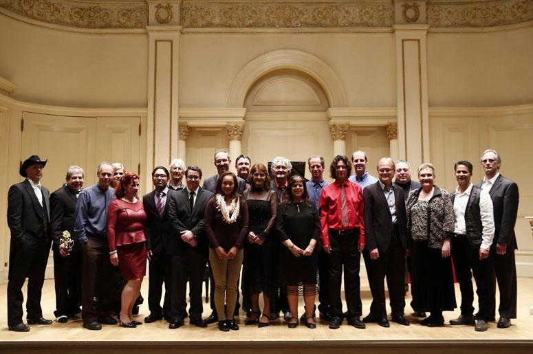Concert radio et cérémonie de remise des prix  du piano