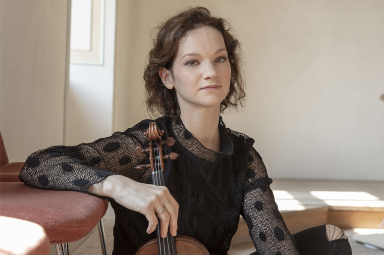 Hilary Hahn et l'OSM dans le Concerto de Dvorák