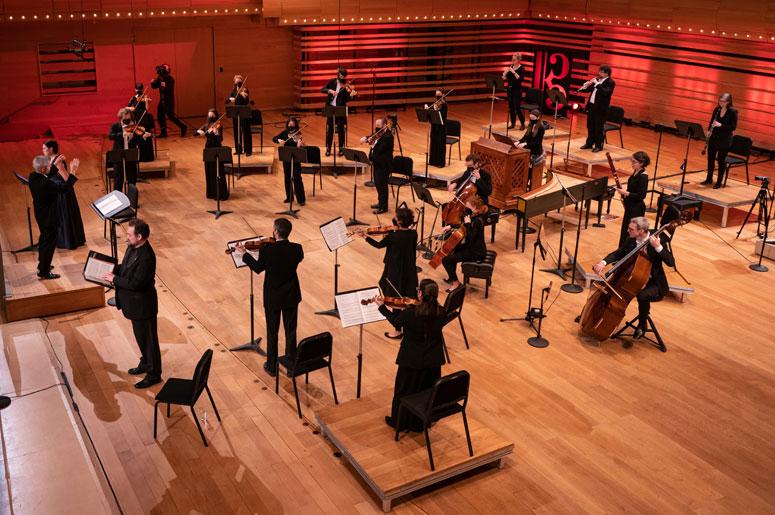 Oratorio de Noël de J.S. Bach – Orchestre et Chœur du Festival Bach Montréal